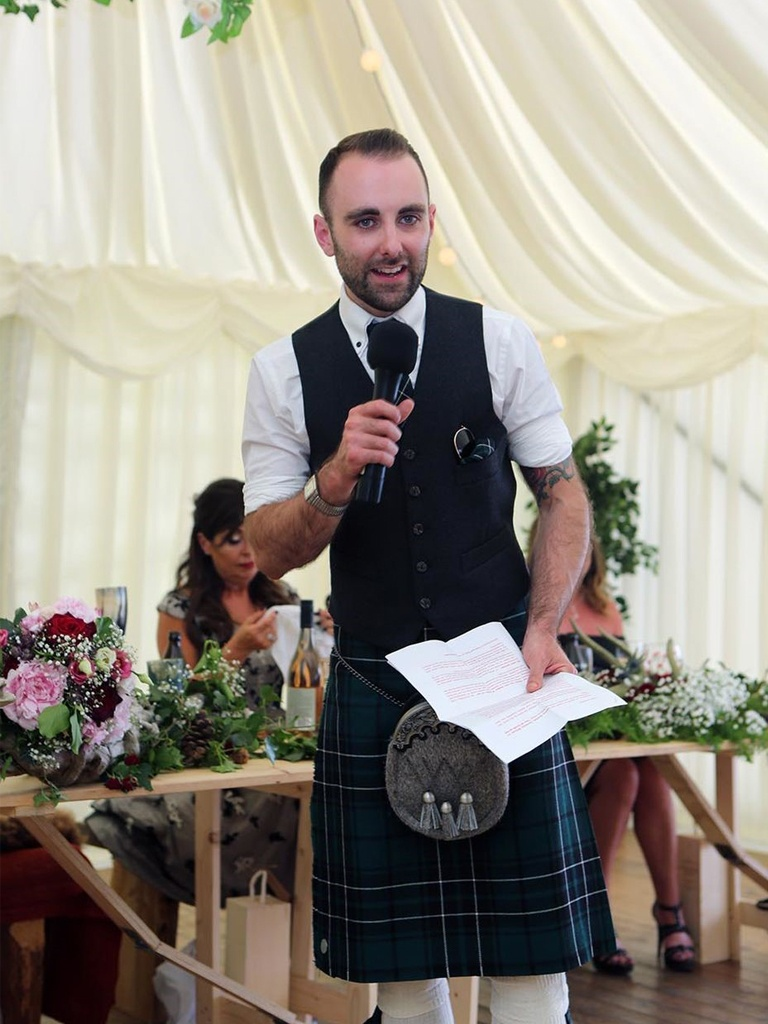 Gail Photography - groom's speech