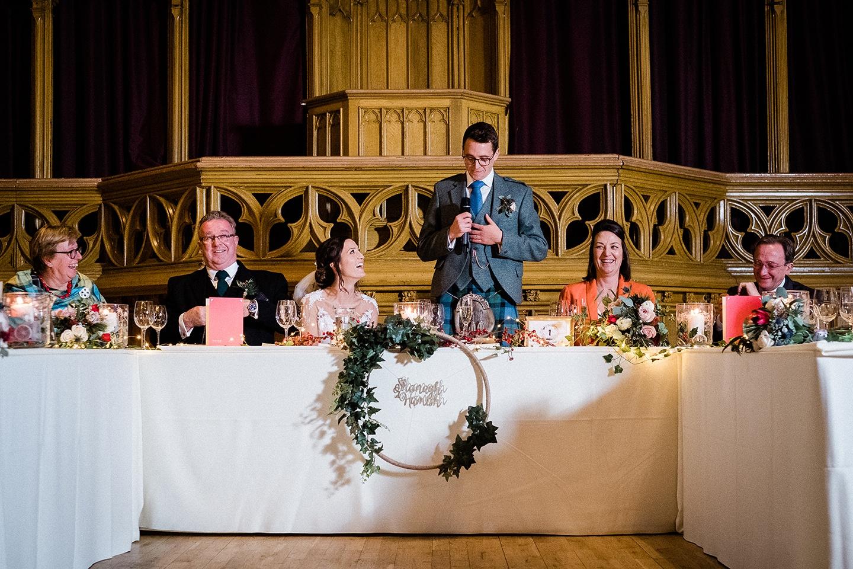 Fern Photography - groom's speech
