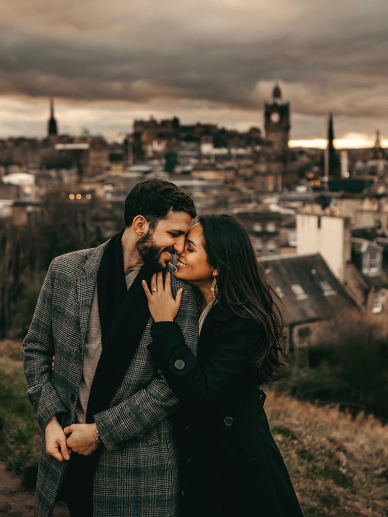 Strad Photography - engagement shoot in Edinburgh