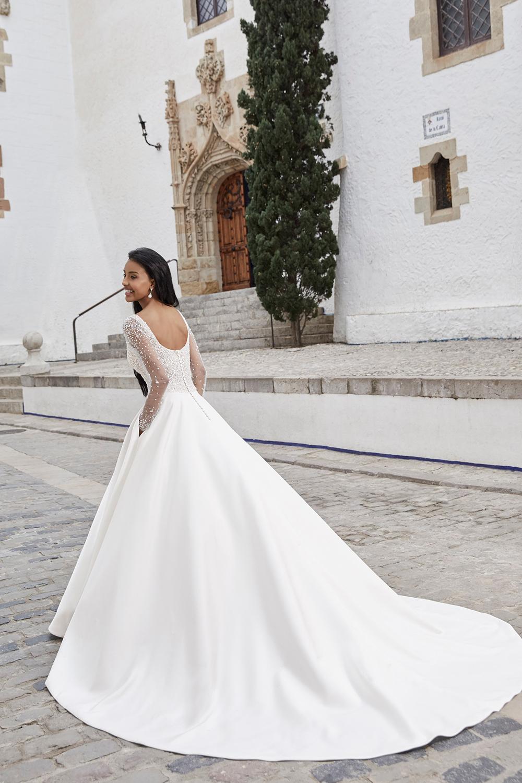 Victoria Kay Bridgerton-inspired dress