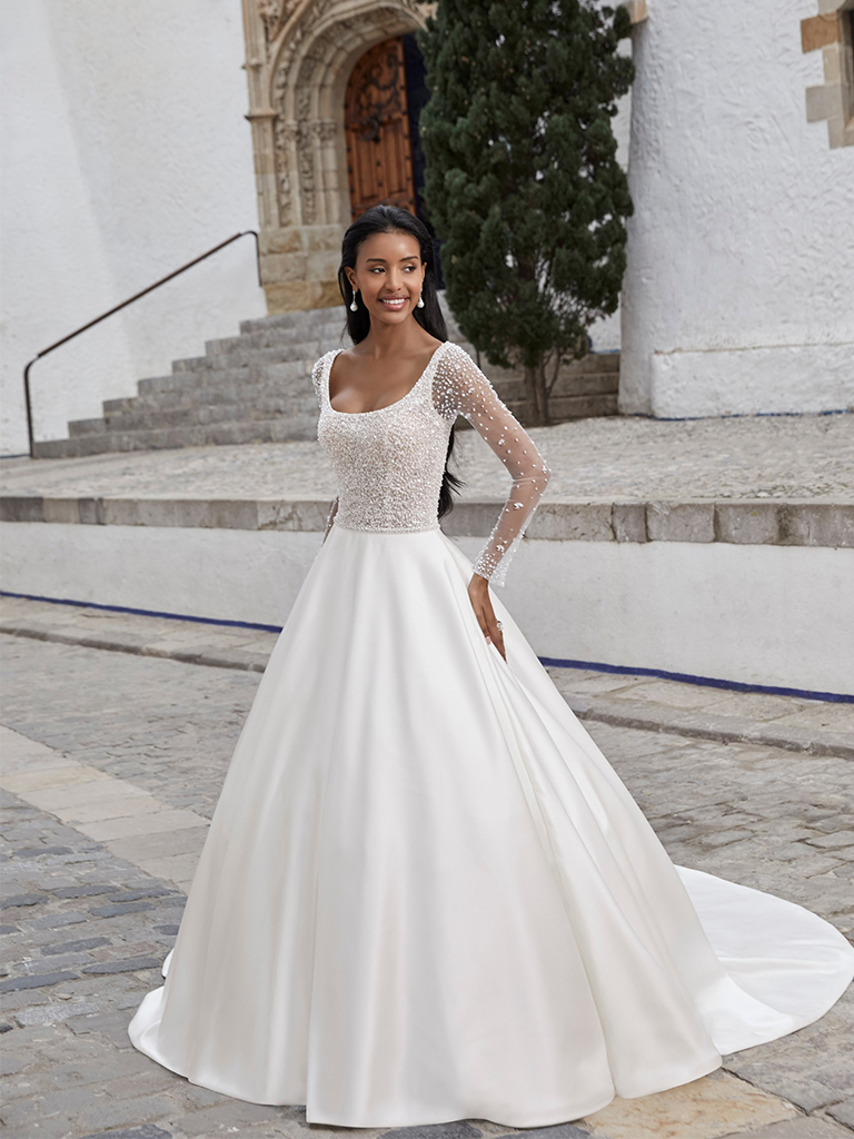 Victoria Kay Bridgerton-inspired dress featured image